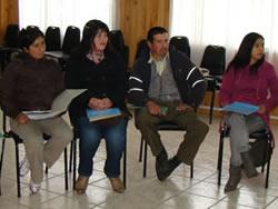 DESEMPLEADOS DE LA COMUNA DE QUINCHAO PARTICIPAN EN JORNADAS DE APRESTO LABORAL