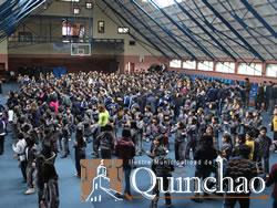 """MIL 23 PERSONAS PARTICIPARON PARTICIPARON EN EL """"DIA DEL DESAFIO"""" EN LA COMUNA DE QUINCHAO"""