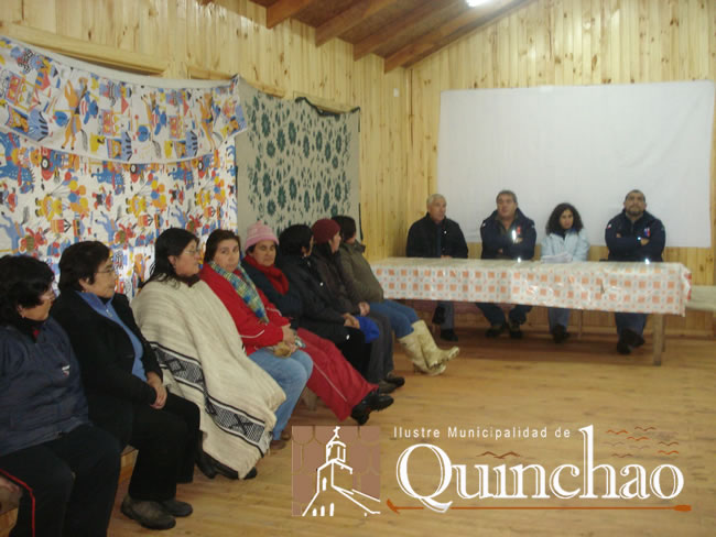 INDAP FAVORECE A NUEVOS USUARIOS DE PRODESAL DE LA COMUNA DE QUINCHAO